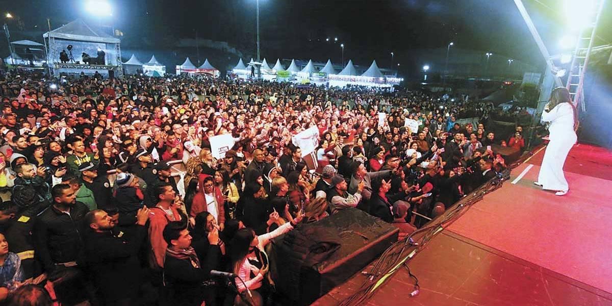 Mauá tem shows de famosos