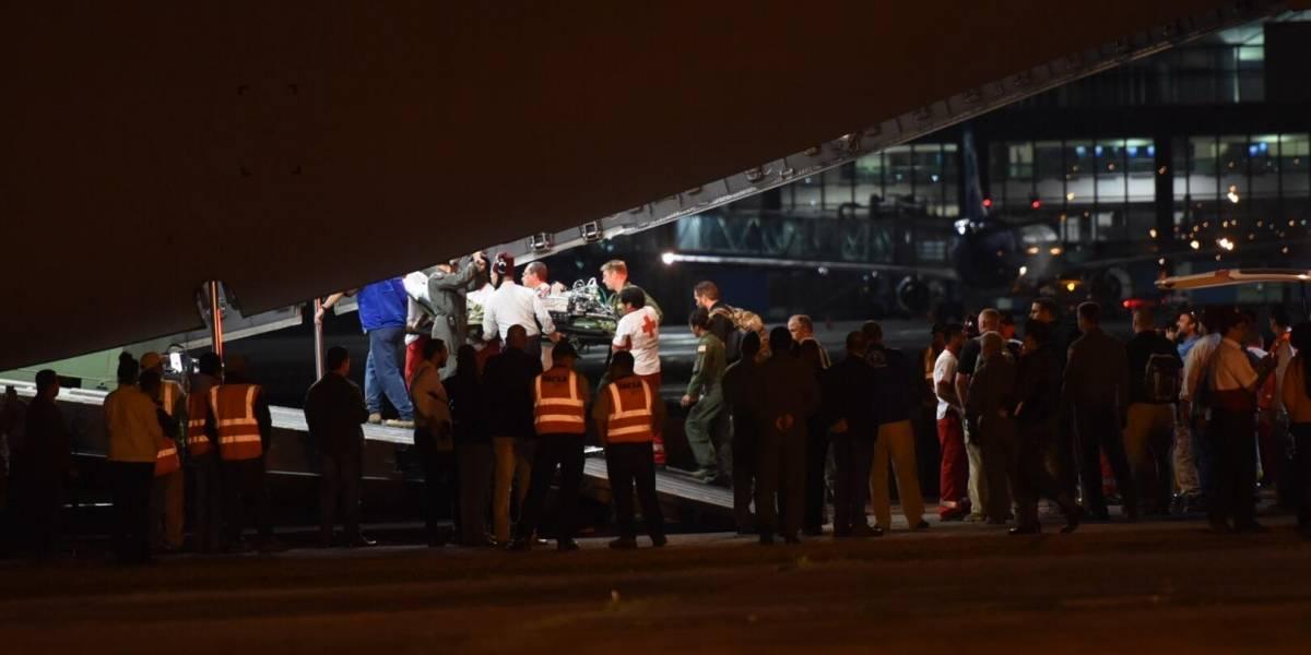 Seis menores son trasladadas a EE.UU. para recibir atención médica