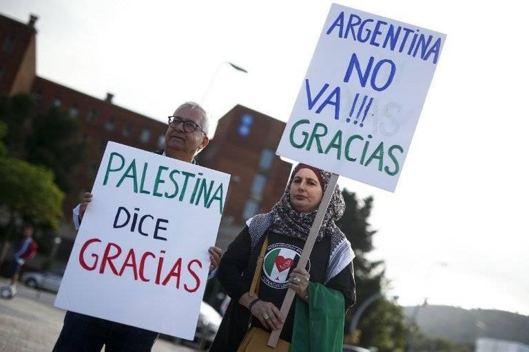 Varios mensajes de agradecimiento a Argentina por no jugar el amistoso ante Israel