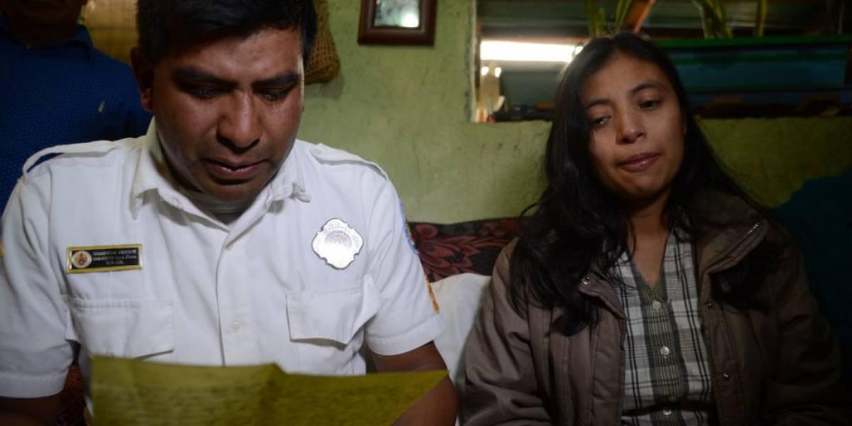 La desgarradora carta que bombero desaparecido tras erupción volcán de Fuego dejó a su familia