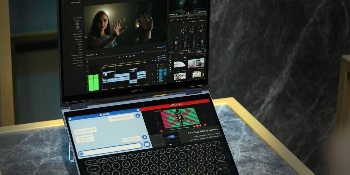 Sin teclado y con IA: Así es el notebook futurista que adelantó ASUS en #Computex2018