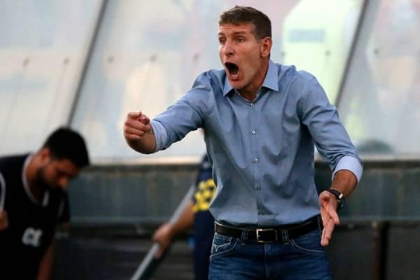 Martín Palermo tiene contrato hasta diciembre en Unión Española / Foto: Photosport