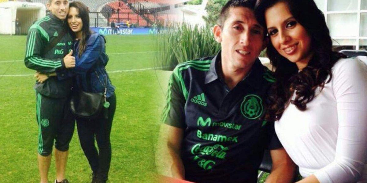 Convocan a marcha para que esposa de Héctor Herrera lo perdone