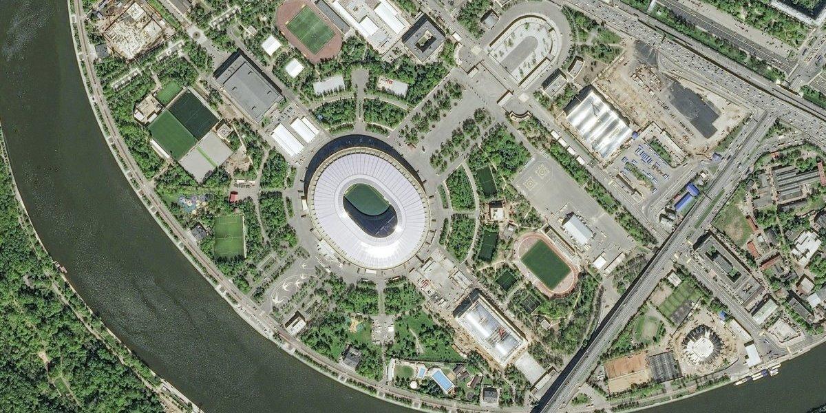 FOTOS: Conoce los estadios mundialistas desde el espacio