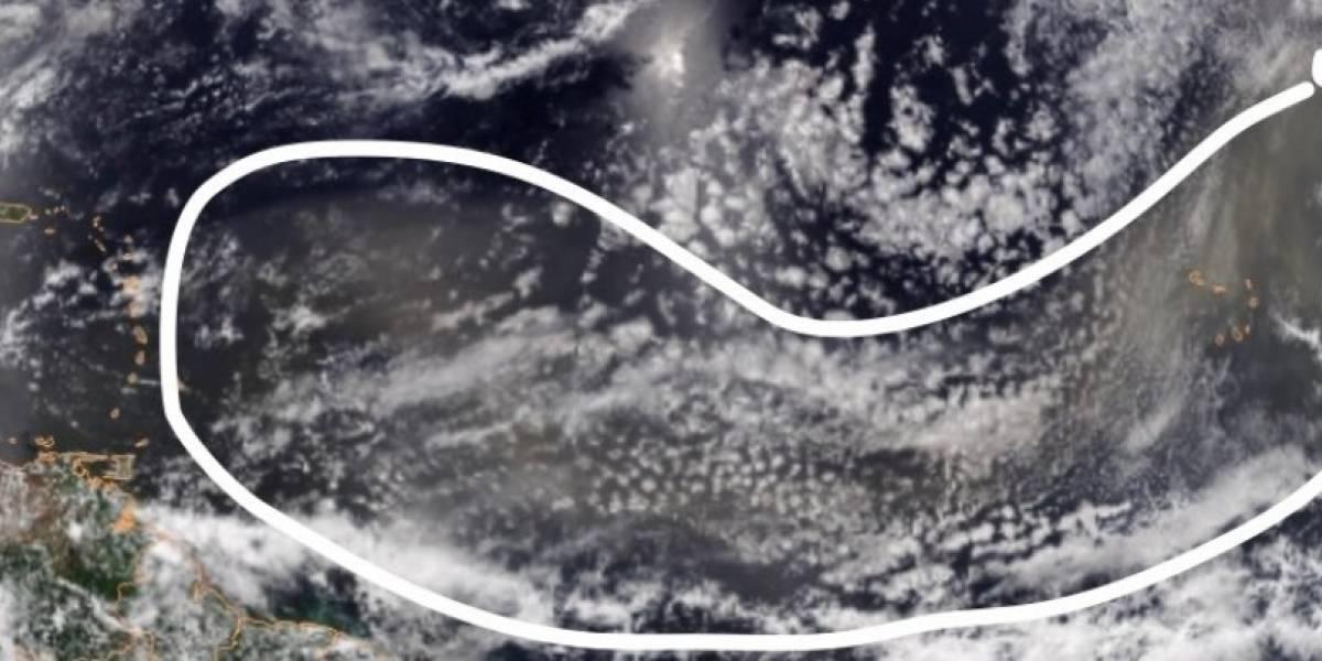 Enorme nube de Polvo del Sahara llega a Puerto Rico