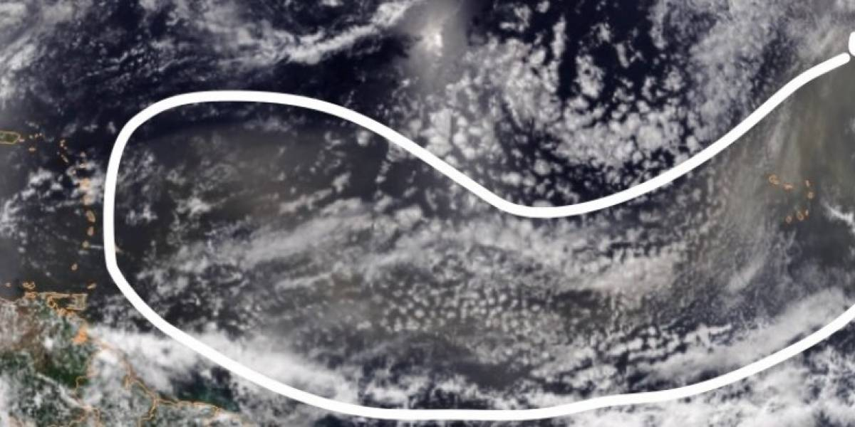 Polvo del Sahara genera bruma en Puerto Rico