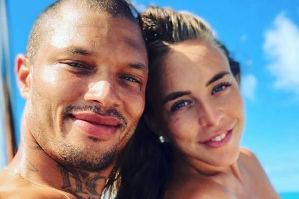 Chloe Green y su novio Jeremy Meeks