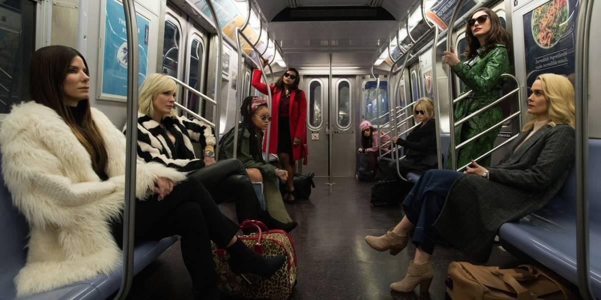 Oito Mulheres e um Segredo repete fórmula de filme de roubo com elenco estelar