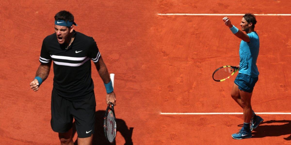 Nadal enfrentará a del Potro en semifinales del Roland Garros