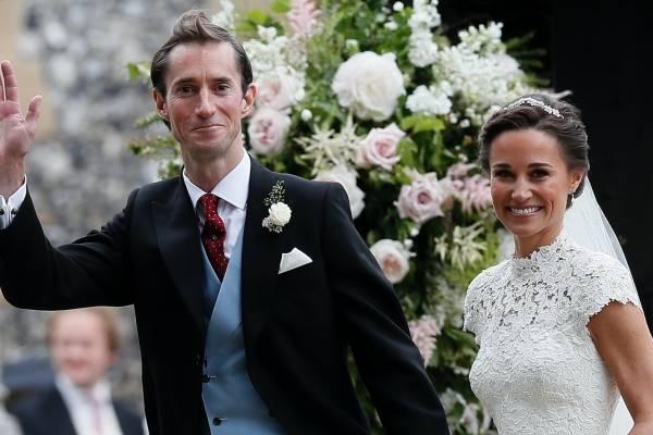 Pippa hace tía a Kate Middleton