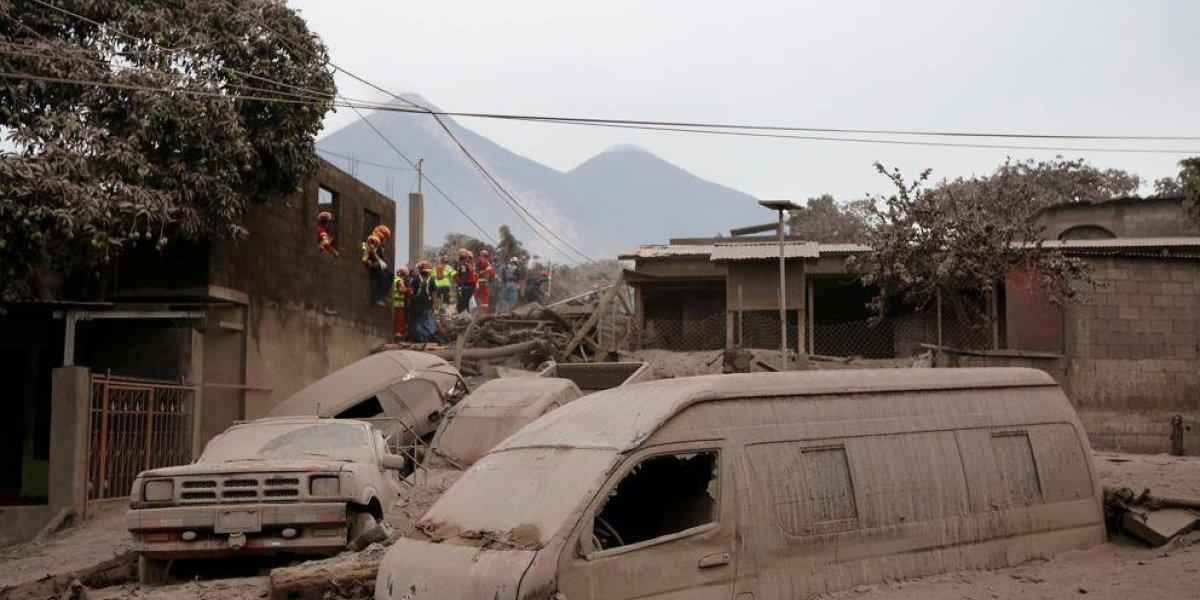 Impactantes imágenes muestran el antes y después de las áreas afectadas por el volcán