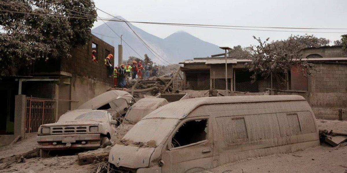 Asignaciones presupuestarias para atender emergencia del volcán de Fuego suman Q297 millones