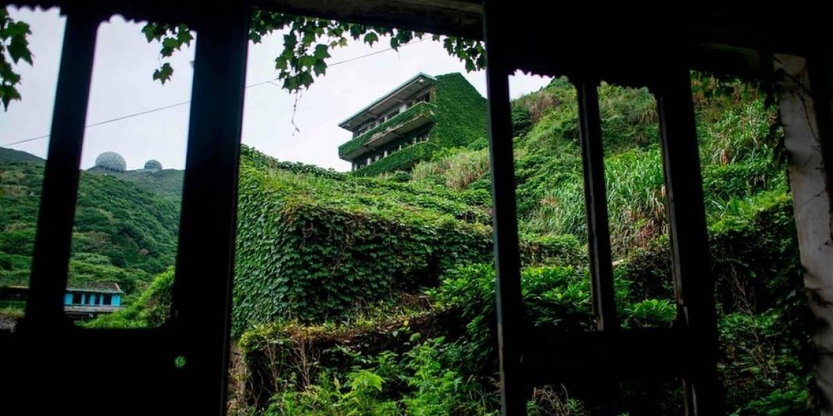 A aldeia fantasma que está sendo dominada pela natureza