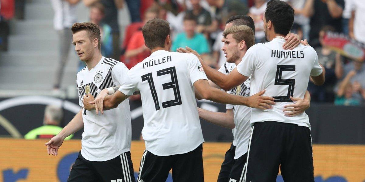 Alemania triunfa en último duelo de preparación previo al Mundial