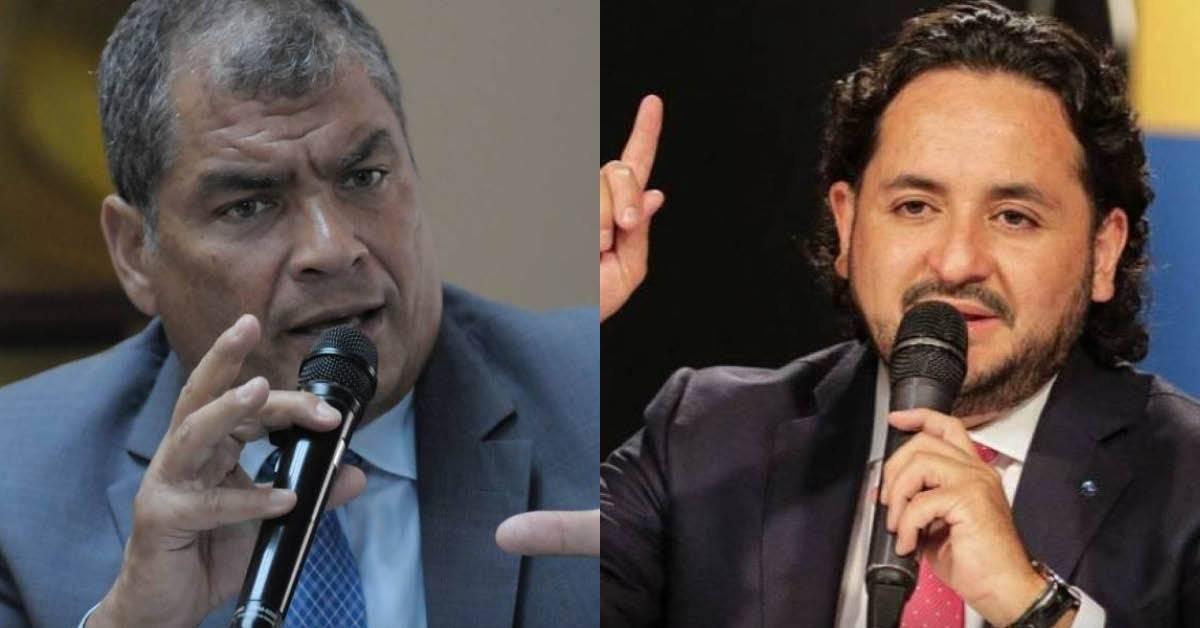 Rafael Correa respondió a Andrés Michelena