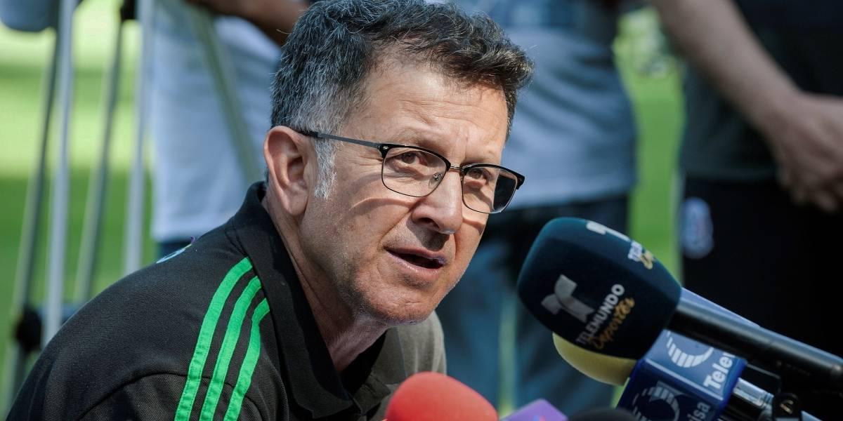 Juan Carlos Osorio habló sobre el escándalo sexual de México