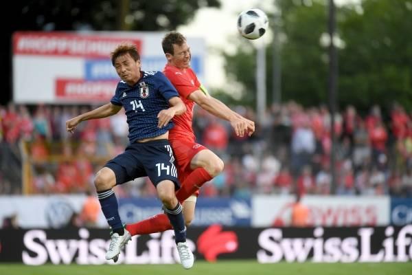 Video de los goles del partido amistoso Japón vs Suiza