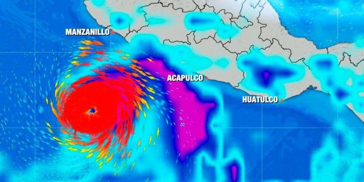 Aletta, primer huracán del año en el Pacífico, se intensifica a categoría 3