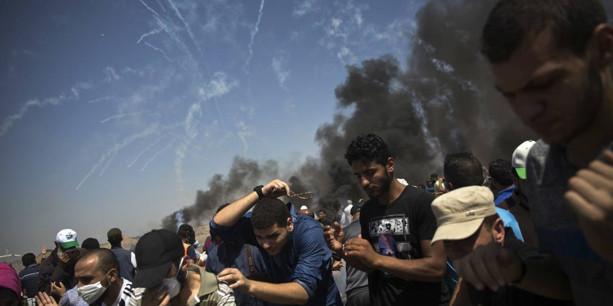 Sangrienta jornada: al menos tres víctimas fatales y mas de 400 heridos en frontera de Israel con Gaza
