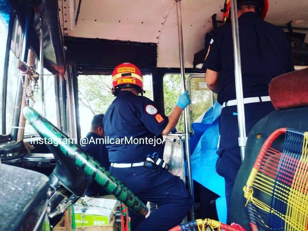 ataque armado contra bus en ruta a El Salvador