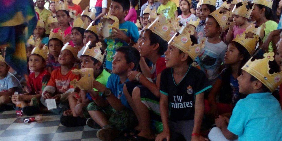 Burger King lleva alegría a los niños y niñas de albergue en Escuintla