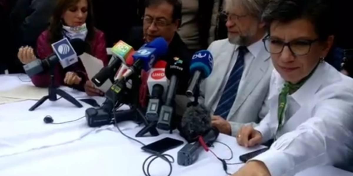 ¡Es oficial! Antanas Mockus y Claudia López confirman su apoyo a Gustavo Petro