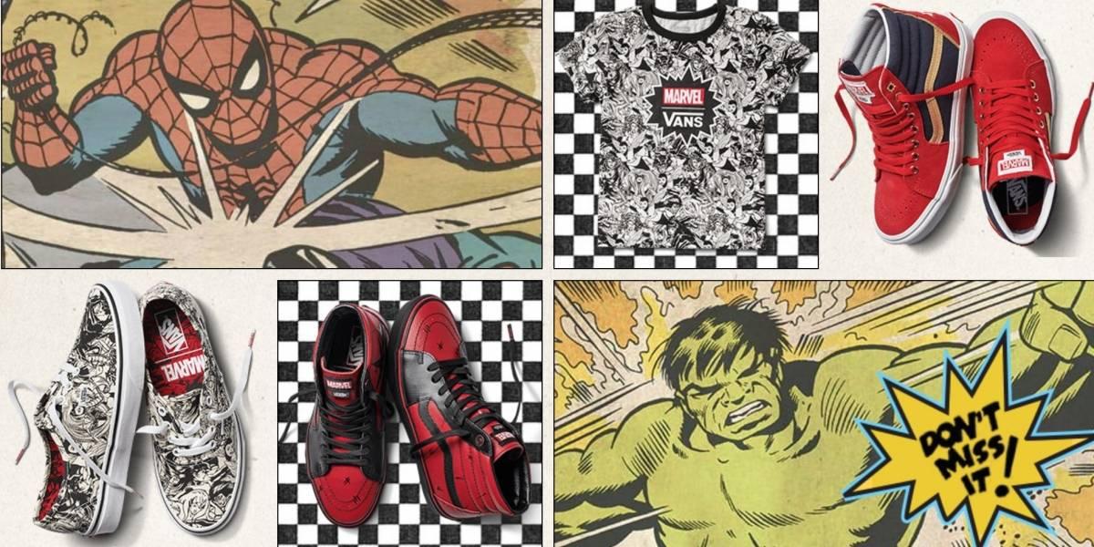 Vans lanza colección especial de Marvel's Avengers: Conoce sus diseños y precios