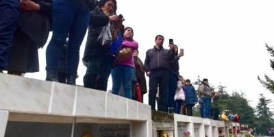 Despedida del cabo Galindo en Cañete