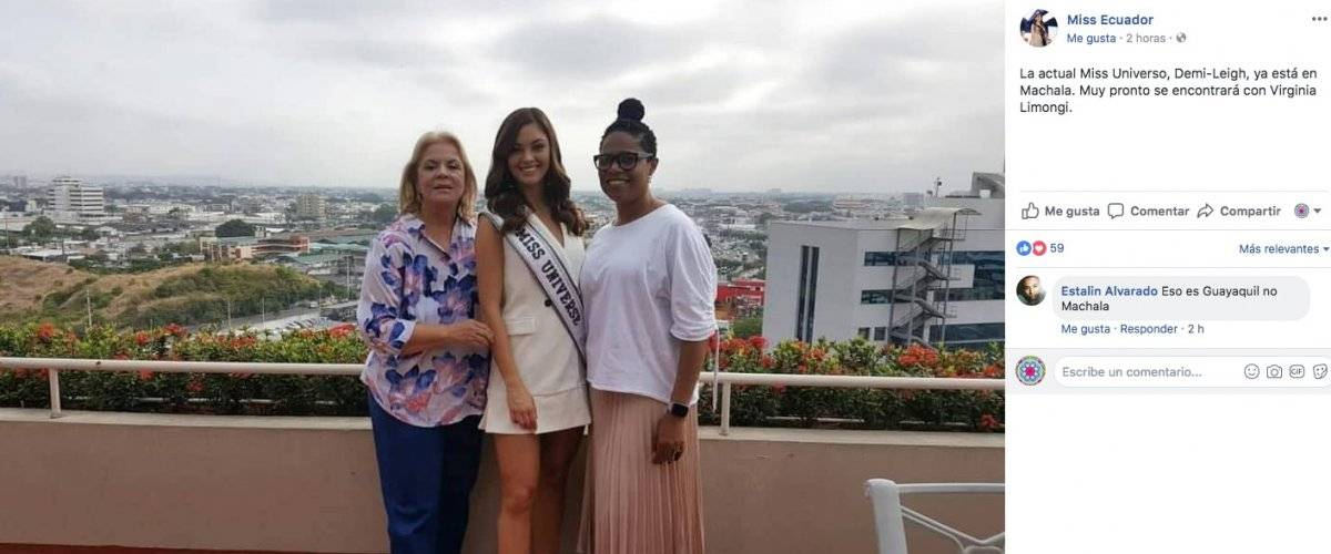 Miss Universo en Ecuador Facebook Miss Ecuador