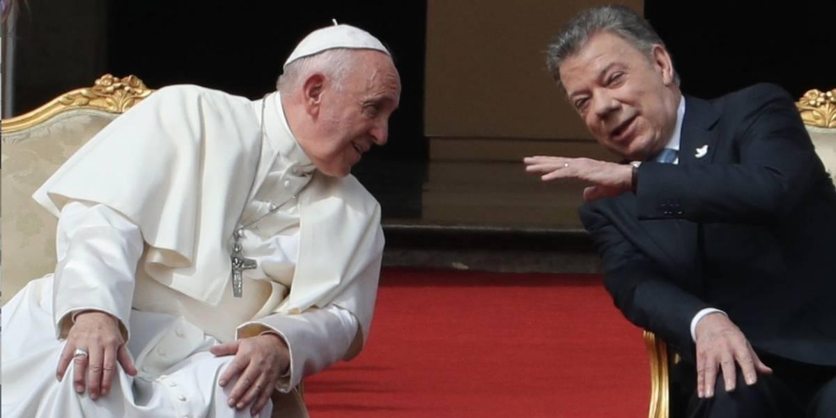Se cancela la audiencia del papa Francisco con el presidente Santos
