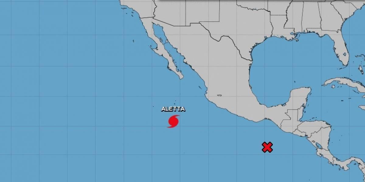 Aletta ya es huracán categoría 4; se aleja de las costas mexicanas