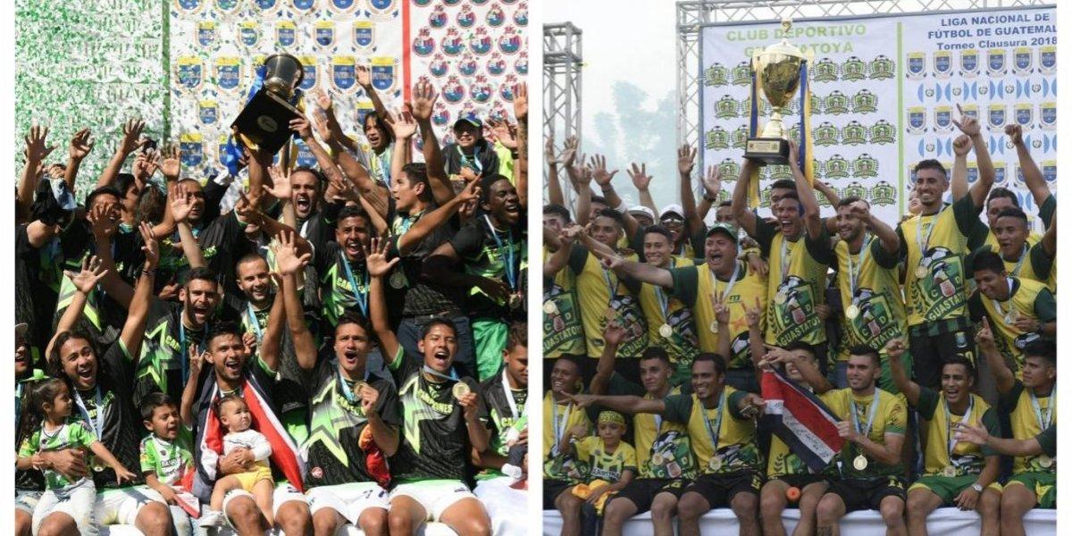 Concacaf invita a Guatemala a la Liga de Campeones, ¿irá Antigua o Guastatoya?