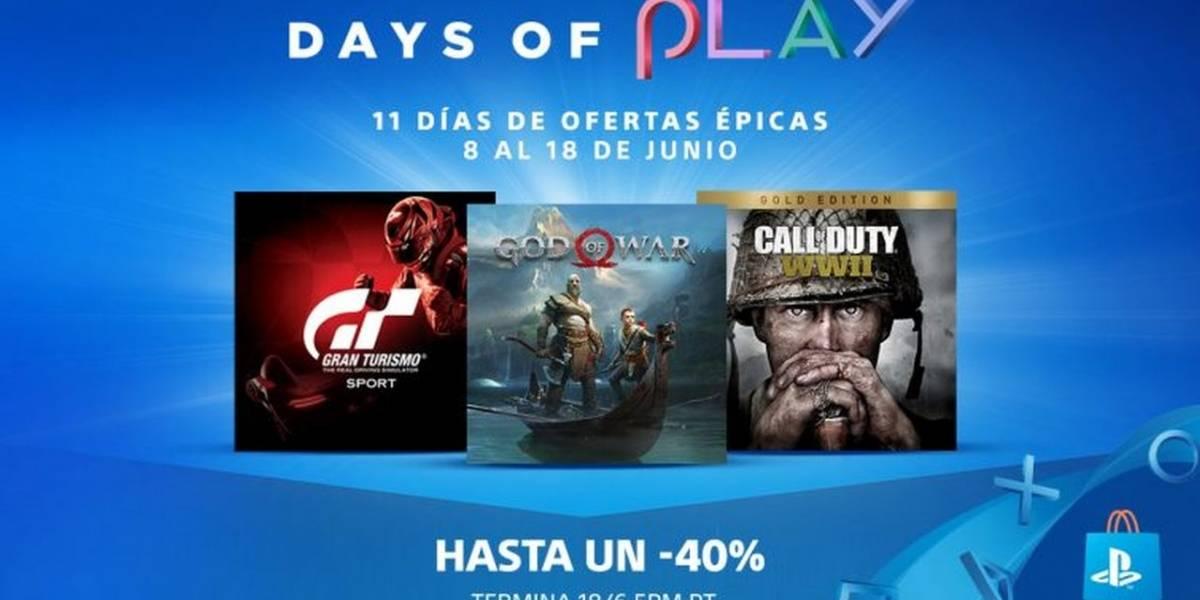 Hoy comienza la Promoción Days of Play de PlayStation 4