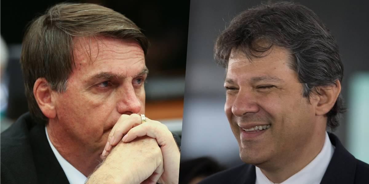 Bolsonaro mira no Nordeste e Haddad o liga a Hitler