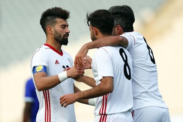 Video de los goles del partido amistoso Irán vs Lutuania