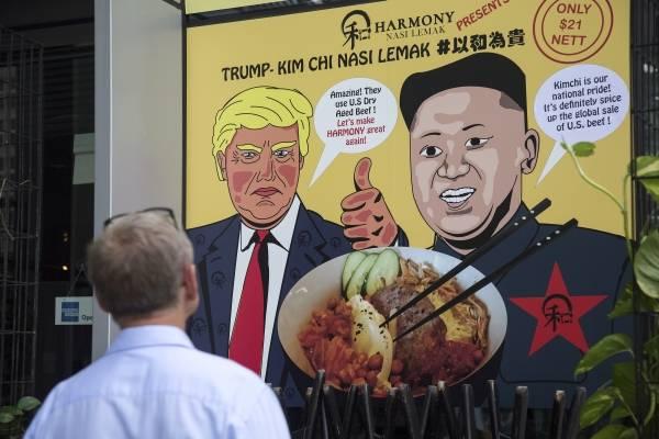 Ambiente en Singapur ante la reunión de Donald Trump con Kim Jong-un