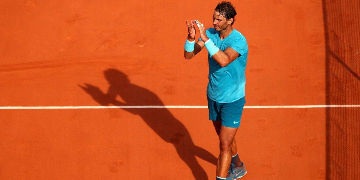 Nadal vence a del Potro y avanza a la Final del Roland Garros
