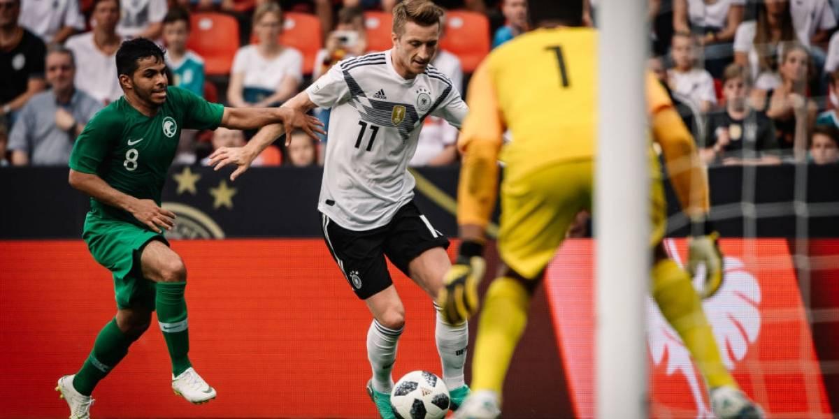 Pizzi volvió a perder con Alemania en nuevo amistoso de Arabia Saudita