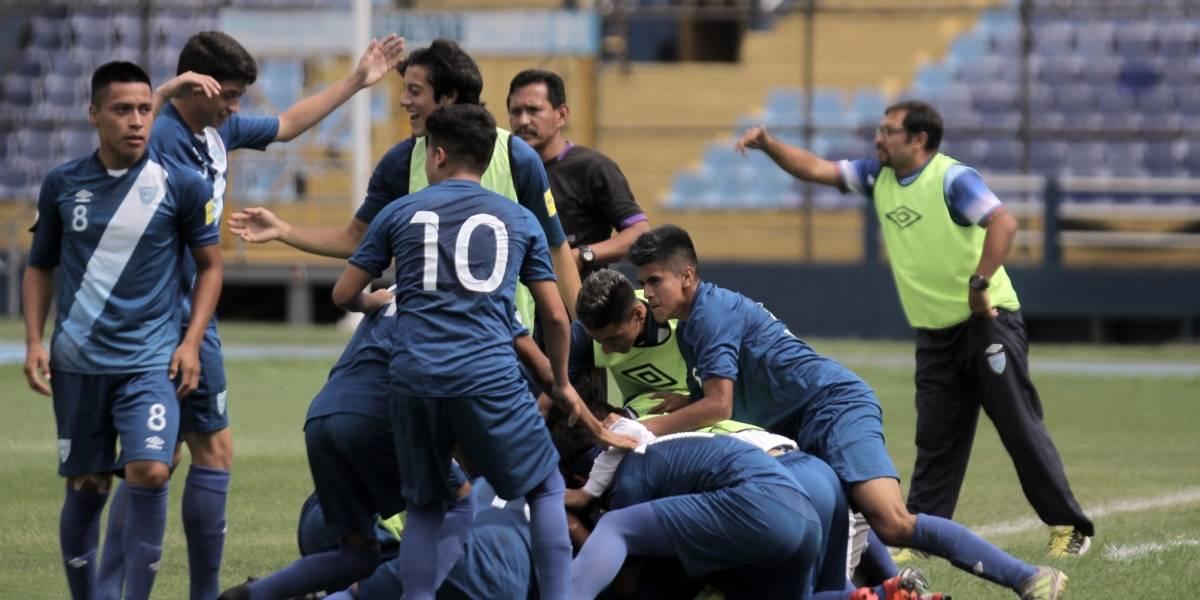 Guatemala derrota a Honduras e irá por el título del Futbol Unificado