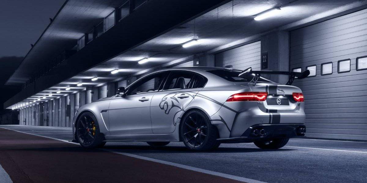 Comienza el trabajo del XE SV Project 8, el sedán más potente de Jaguar
