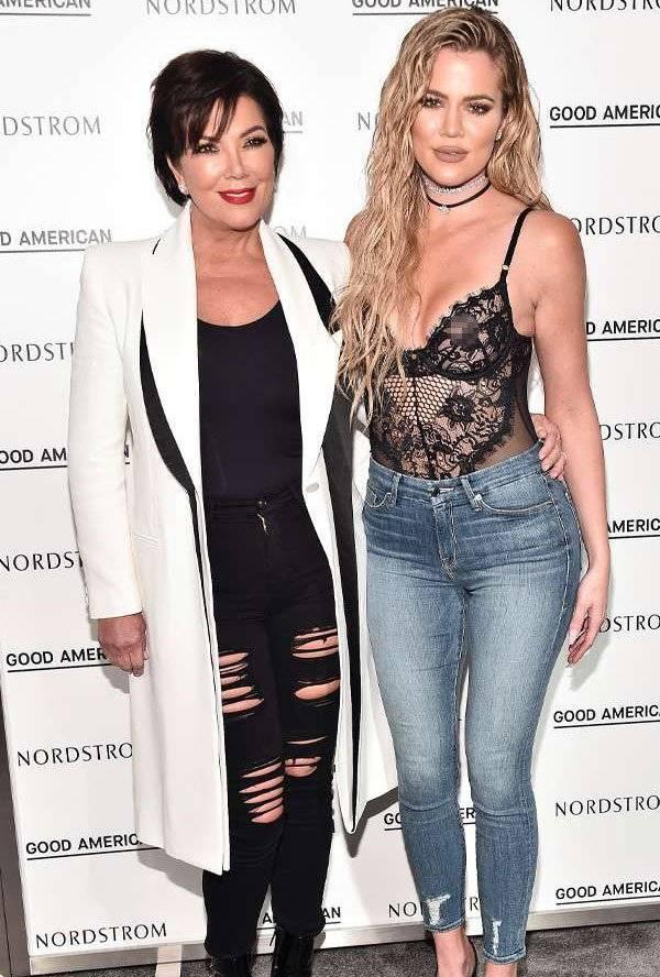 Kris Jenner Khloe Kardashian Los Ángeles