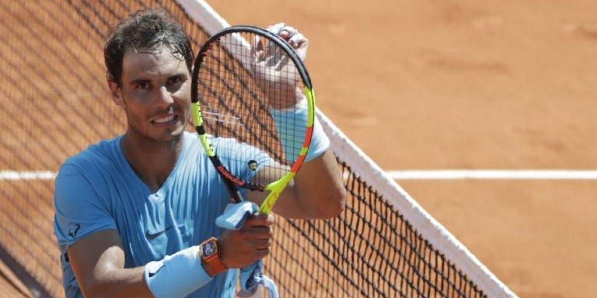 Nadal barre a del Potro y clasifica a la final del Roland Garros