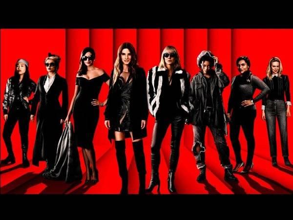 Ocean's 8 Mujeres