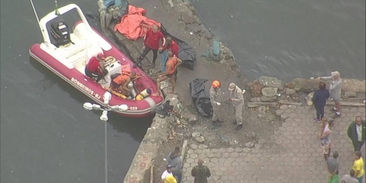 Naufrágios deixam mortos e desaparecidos na Baía de Sepetiba, no Rio de Janeiro