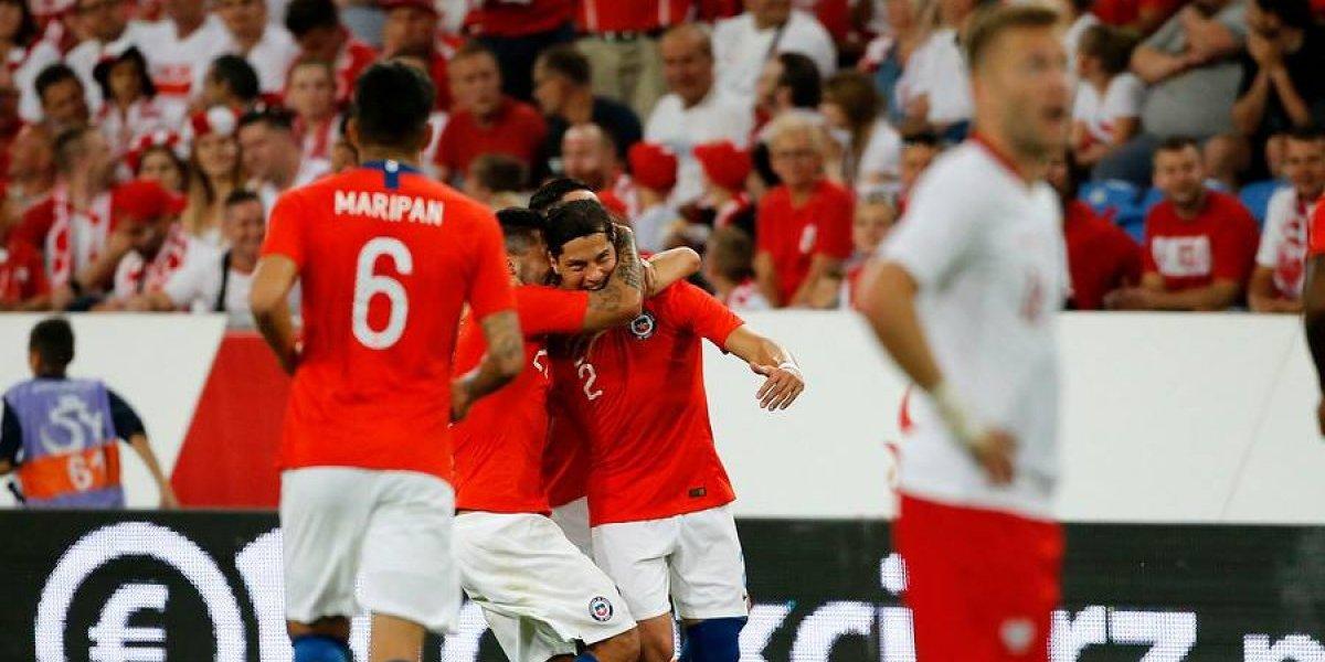 Así vivimos el empate de Chile ante la mundialista Polonia