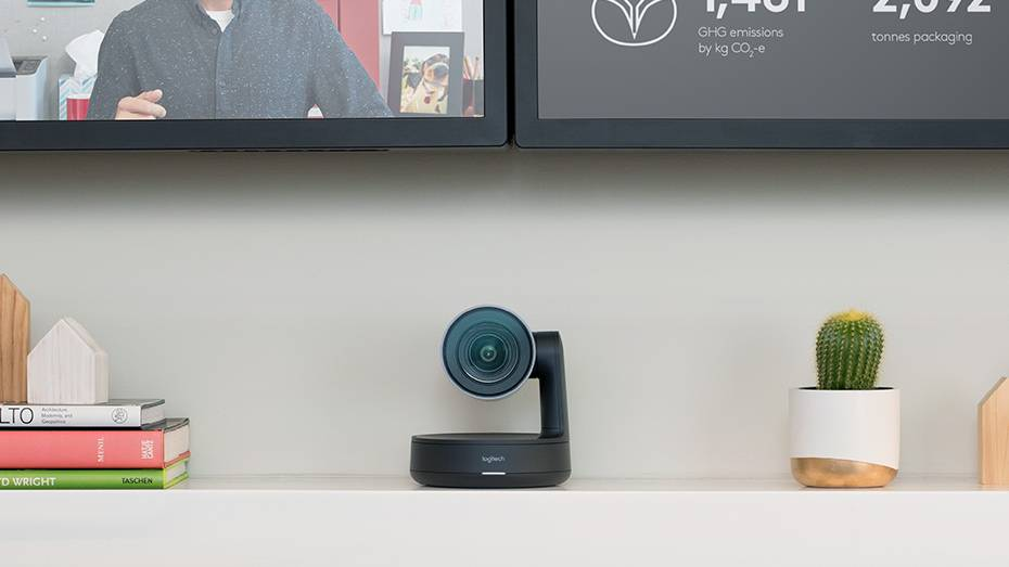 Logitech acaba de presentar a Rally: su última cámara premium diseñada para videoconferencias