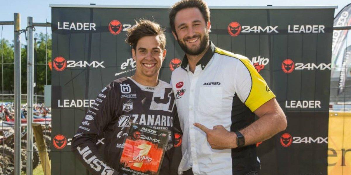 Ruy Barbosa junior es líder del Mundial de Enduro
