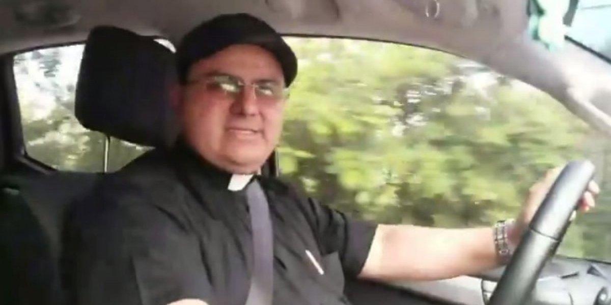 VIDEO. Sacerdote salvadoreño por fin entrega ayuda para víctimas del volcán