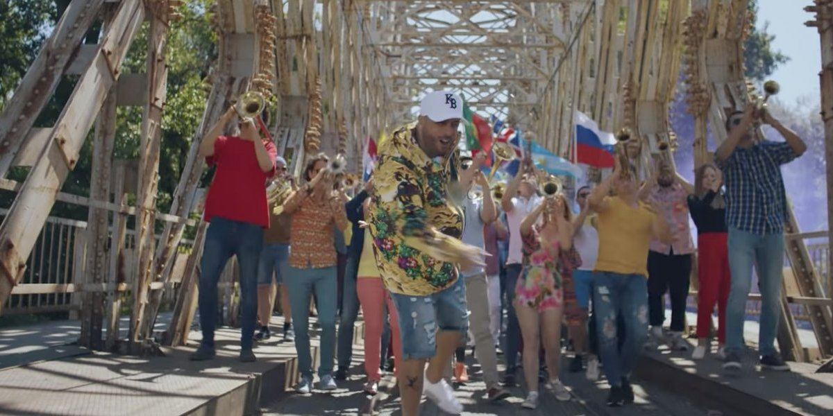 Nicky Jam y Will Smith estrenan video oficial del Mundial