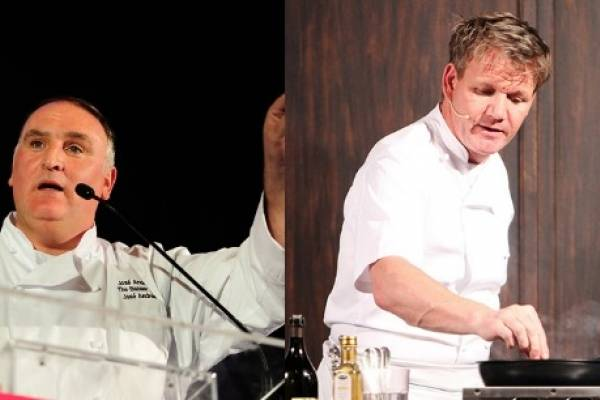 gordon ramsey / jose andres